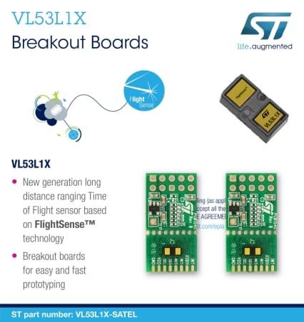 VL53L1X-SATEL (پک دوتایی)